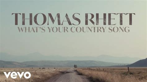 """A birthday song personalised for you feels special. New at Noon - Thomas Rhett """"What's Your Country Song"""" 