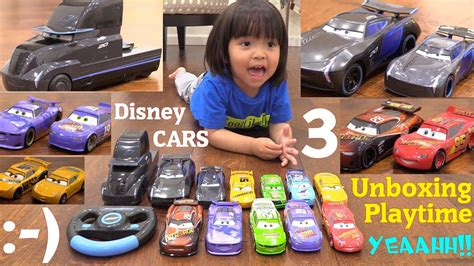 Disney Cars 3 Diecast Cars And Truck. Jackson Storm 2.0 Rc