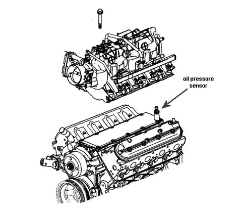 Silverado Oil Pressure Sensor Within Diagram Wiring