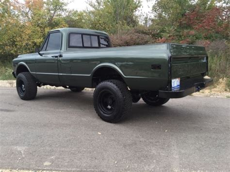 Chevy K20 Wallpaper by 1972 Chevy K20 Custom Deluxe 4x4 Lifted 454 Pro Athlete