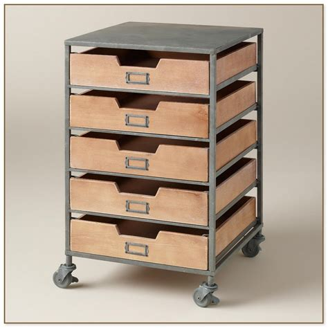 Storage Cart With Drawers And Wheels by Carts On Wheels