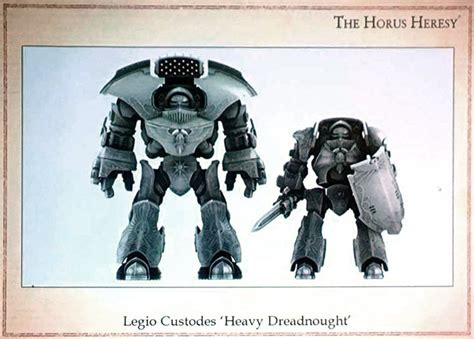 Upcoming FW Custodes Heavy Dreadnought | Lost soul ...