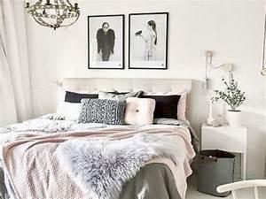 Idée De Déco Chambre : du blush dans la chambre cocon d co vie nomade ~ Melissatoandfro.com Idées de Décoration