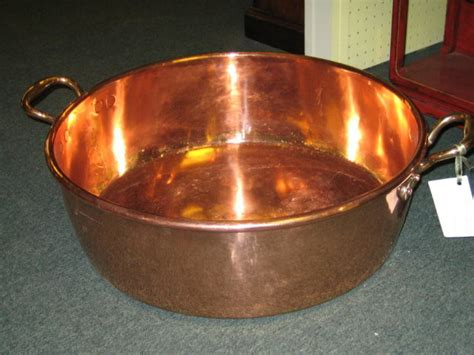 large english copper preserve pan  sale antiquescom classifieds