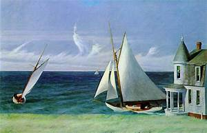 Edward Hopper Lee Shore painting framed paintings for sale