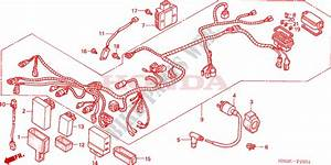 Wire Harness  Trx450fm  For Honda Fourtrax Foreman 450 S