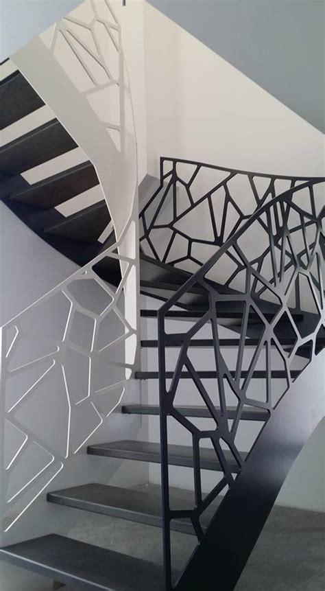 garde corps escalier interieur design escalier garde corps bas rhin alsace rb metal design