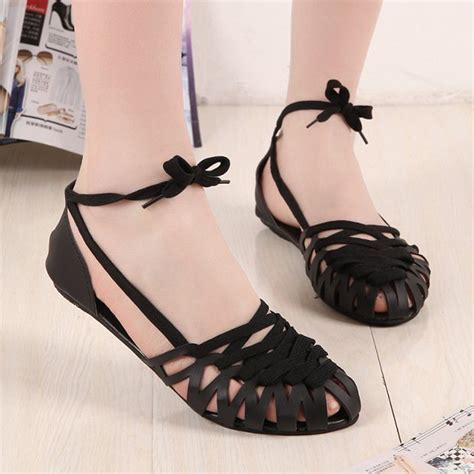 latest designer flat sandals  women  images