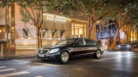 Mercedes Maybach S Class 2015 Wallpaper