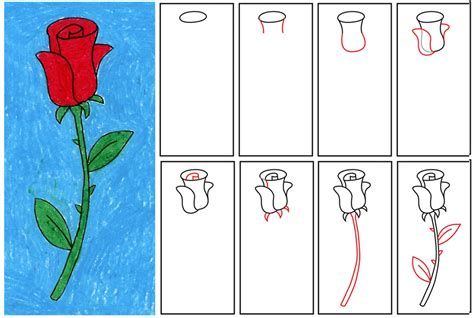 how to draw a flower step by step how to draw a rose step by step easy clipart best