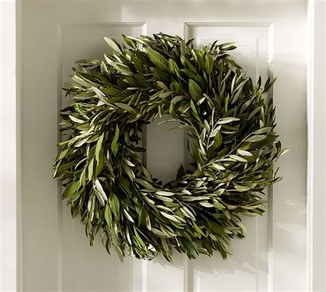 pottery barn wreath pottery barn 20 this weekend only save on fall home
