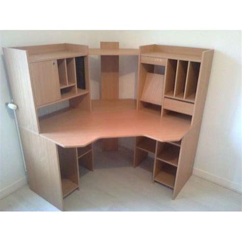bureau d angle conforama bureau d 39 angle couleur merisier achat et vente