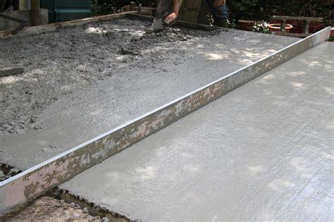 faire une chape exterieur chape de ciment comment r 233 aliser une chape en ciment