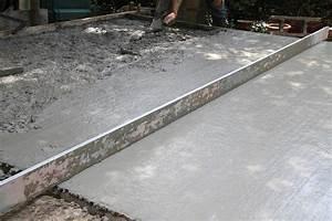 superieur comment realiser une dalle beton pour terrasse With comment realiser une dalle beton pour terrasse