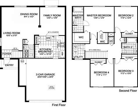 family home floor plans lovely single family home plans 6 one single family