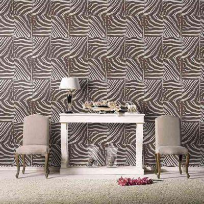 Tapisserie Zebre by Papier Peint Vinyle Sur Intiss 233 Z 232 Bre Chocolat Brillant