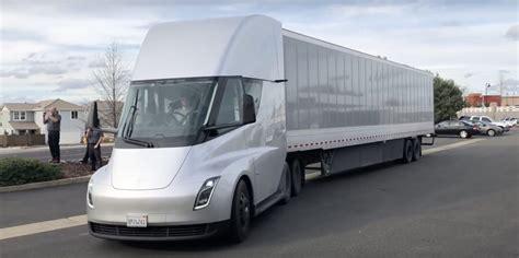 The New Tesla Semi Truck