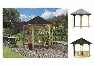 Baumaterial Aus Polen : gartenpavillon holz sechseckig ~ Michelbontemps.com Haus und Dekorationen