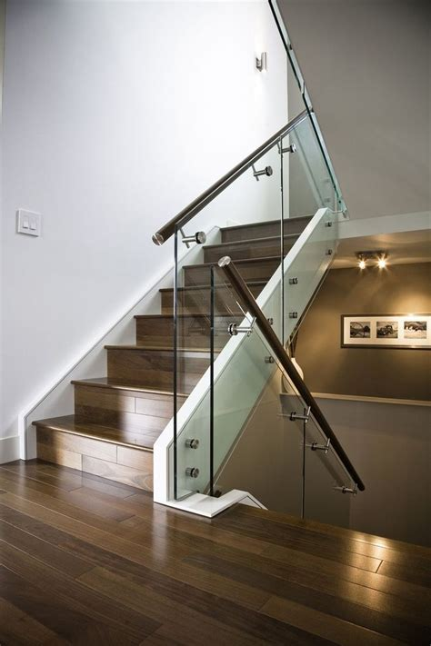 glass stair banisters 17 best ideas about glass stair railing on