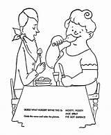 Coloring Nursery Rhymes Pages Sprat Jack Quiz Clip Bluebonkers sketch template