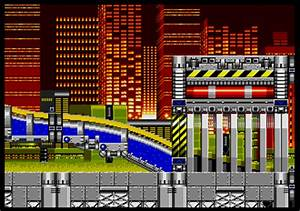 Background HQ :: Sonic the Hedgehog 2 - Chemical Plant Zone