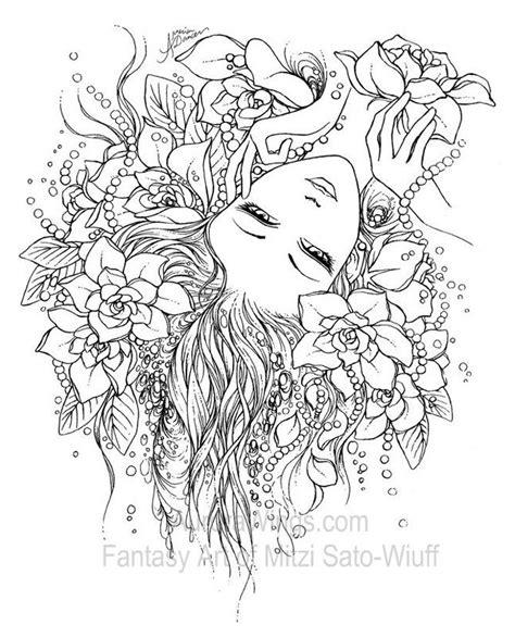 Kleurplaat Wings by Coloring Book 1 Wings Of Mitzi Sato