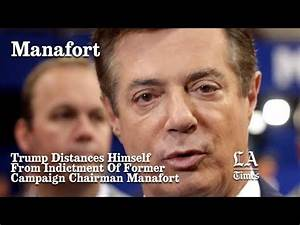 Trump Distances Himself From Indictment Of Former Campaign ...