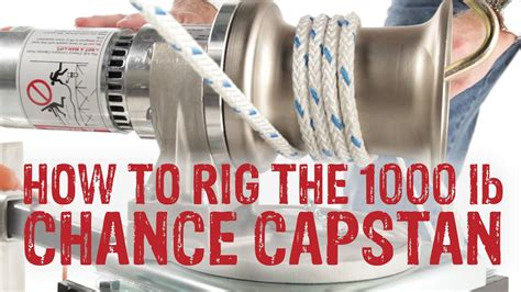 rig chance capstan hoist  swivel mount gme