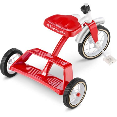 radio flyer dual deck tricycle walmart radio flyer 445p ez fold stroll n trike pink walmart