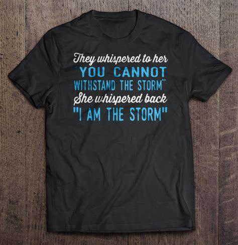 It is a creative source for design news, inspiration, graphic resources and interviews. They Whispered To Her You Cannot Withstand The Storm She ...