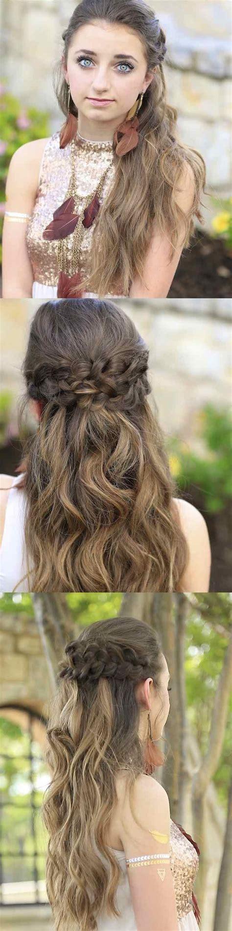 easy     hairstyle tutorials  prom  goddess