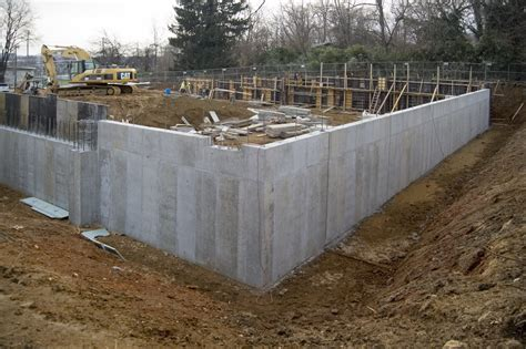 retaining concrete wall concrete retaining wall on the level with gardner fox