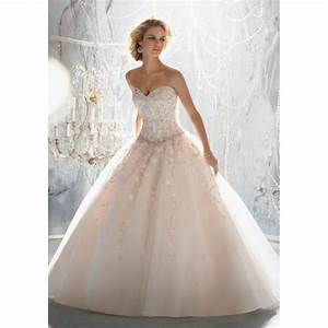 mori lee 1970 drop waist beaded ball gown wedding dress With drop waist ball gown wedding dress