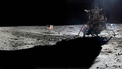 Apollo Armstrong Moon Surface Lunar Module Nasa