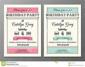 art deco birthday party invitation stock vector image With art deco party invitation templates