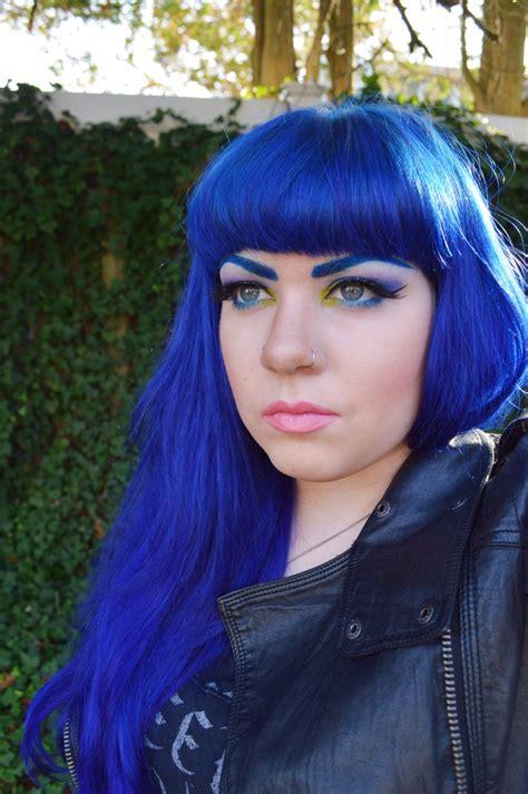 Hair Blue by Amazing Electric Blue Hair Hair Colors Ideas