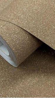 P+S International Wallpapers Carat Dark Gold Glitter ...