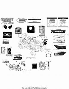 Troy Bilt 13aa93kt066 Tb2246  2014  Parts Diagram For