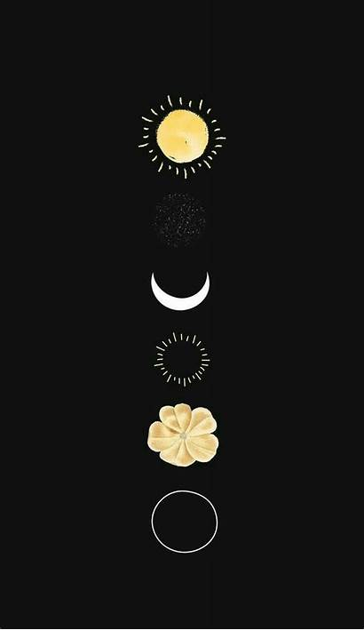 Boho Phone Witchy Quotes Moon