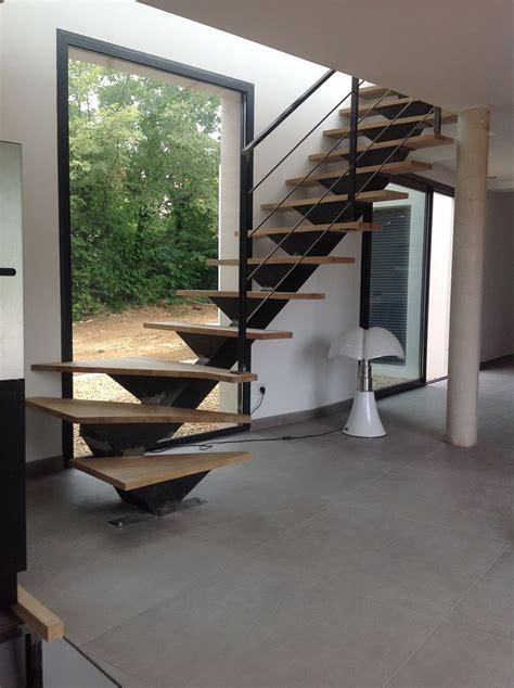 escalier métallique extérieur escalier interieur quart tournant escalier quart tournant