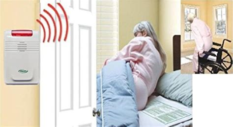 wireless bed chair alarm with pager no alarm in