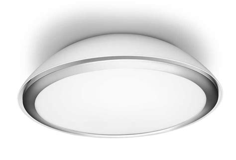 philips 320633116 plafonnier led cool eclairage salle de bain blanc m 233 tal fr luminaires