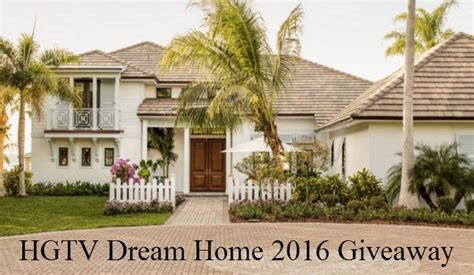 hgtv dream home  giveaway enter daily  win