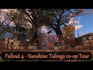 Fallout 4 - Settlement Tour - Sunshine Tidings co-op ...