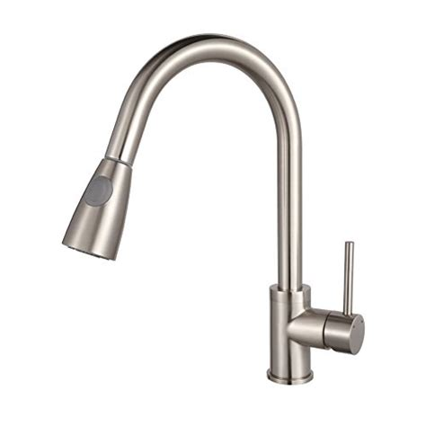 modern kitchen faucets stainless steel read about luxice modern stainless steel single handle