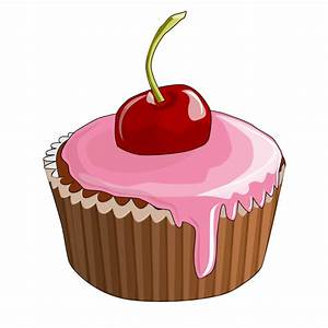 Free to Use & Public Domain Cupcake Clip Art