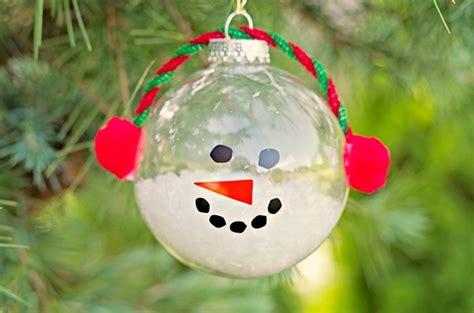 cool diy christmas ornaments snowman ornament craft ideas ye craft ideas