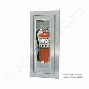 larsen39s semi recessed 5 16 fire extinguisher cabinet mp5 With kitchen colors with white cabinets with fire extinguisher inside sticker