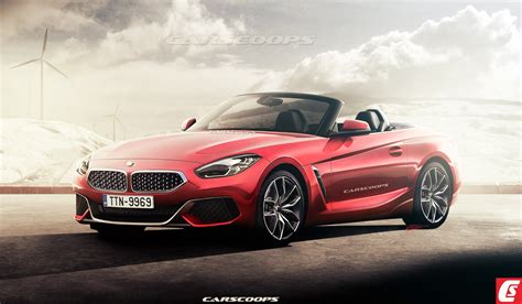 2019 Bmw Roadster by Future 2019 Bmw Z4 Roadster Flips Its Lid Carscoops