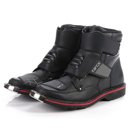 sport motorcycle shoes aliexpress com buy men mid calf moto boots botas